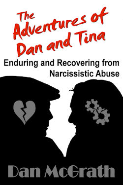 The Adventures of Dan and Tina Book about narcissistic abuse cover